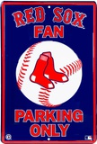 Red Sox Parking Tin Sign