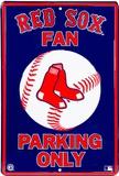 Red Sox Parking Tin Sign