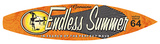 Endless Summer Surfboard Plaque Wood Sign