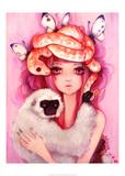 Unwavering Hearts Poster af Camilla D'Errico