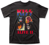 Kiss- Alive Ii T-shirts