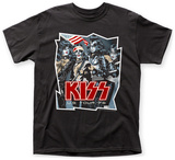Kiss- US Tour '76 T-Shirt
