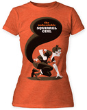 Juniors: Marvel: Michael Cho- Unbeatable Squirrel Girl Big Print Shirts