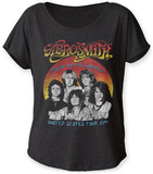 Juniors: Aerosmith- U.S. Tour '84 Juniors Dolman (Dolman) T-shirts
