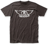Aerosmith- Distressed White Wings T-shirts