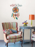 Wild and Free Wall Art Kit Wall Decal