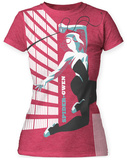 Juniors: Marvel: Michael Cho- Spider-Gwen Big Print T-Shirt
