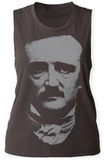 Womens: Edgar Allan Poe- Portrait Tank Top Womens Tank Tops