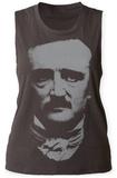 Womens: Edgar Allan Poe- Portrait Tank Top Womens Tank Tops