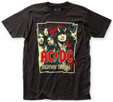 AC/DC- Highway Cover Reimaged T-shirts