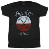 Pink Floyd- Distressed Crossed Hammers T-Shirt