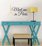 Meet Me in Paris Wall Art Kit Wall Decal