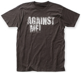 Against Me!- Distressed Logo T-Shirt
