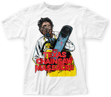 Texas Chainsaw Massacre- Leatherface Yellow Apron Shirts