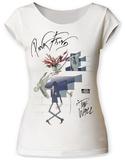 Juniors: Pink Floyd- Wife & Teacher Scoop Neck - T-shirt