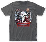 Captain America: Civil War- Jumping To Battle T-shirts