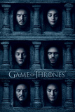 Game Of Thrones- Hall Of Faces Poster