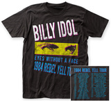 Billy Idol- Rebel Yell Tour '84 (Front/Back) Shirts