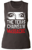 Womens: Texas Chainsaw Massacre- Don't Look Now Tank Top Womens Tank Tops