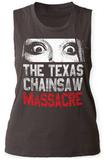 Womens: Texas Chainsaw Massacre- Don't Look Now Tank Top Damestanktops