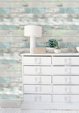 Beachwood Peel & Stick Wallpaper Wall Decal