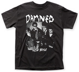 The Damned- New Rose Shirt