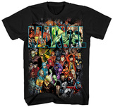 Marvel- Characters Collage T-shirts