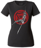 Juniors: Black Widow- Swing Attack Shirts