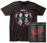 Kiss- Dynasty Tour (Front/Back) Shirts