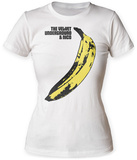 Juniors: Velvet Underground- Banana Sticker T-Shirt
