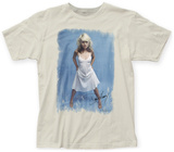 Debbie Harry- White Dress T-Shirt