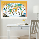 National Geographic Animals of the World Wall Decal Adesivo de parede