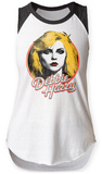 Womans: Debbie Harry- Classic Marquee Visage Raglan Tank T-Shirts
