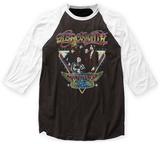 Aerosmith- World Tour 1977 Raglan Tshirts