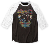 Aerosmith- World Tour 1977 Raglan - T-shirt