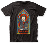 Edgar Allan Poe- Stained Glass T-shirts