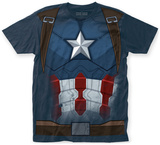 Captain America: Civil War- Cap Costume Tee T-Shirt