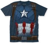 Captain America: Civil War- Cap Costume Tee T-Shirt