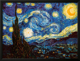 Starry Night, c.1889 Poster by Vincent van Gogh