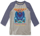 Journey- Frontiers Tour 1983 Raglan T-shirts