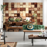 Lumbercheck Wall Mural Wallpaper Mural