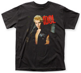 Billy Idol- Idol Red Logo T-Shirts