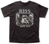 Kiss- Alive '75 T-shirts