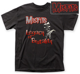 The Misfits- Legacy Of Brutality (Front/Back) T-Shirts