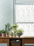 Bamboo Window Privacy Film - Pencere Çıkartmaları
