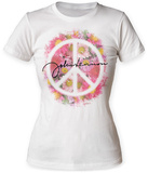 Juniors: John Lennon- Peace Bouquet T-shirts