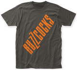 Buzzcocks- Slanted Logo T-Shirt