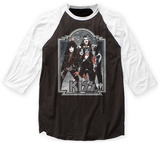 Kiss- Cosmic Cast '76 Raglan T-shirts