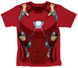 Captain America: Civil War- Iron Man Costume Tee T-shirts