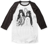 Aerosmith- Band Caricature Raglan T-Shirt